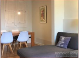 Ref. 3824 Fantastic modern and cozy apartment for rent fully equipped in Eixample Izquierdo