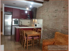 Ref. 3817 Nice apartment for rent fully equipped next to Plaça de Gal.la Placidia.