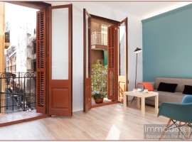 "Ref. 1124 Cozy fully renovated apartment in ""Vila de Gracia""."