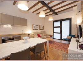 Ref. 3829 Fantastic loft in rent fully furnished and equipped near Avd. Madrid (Camp Nou).