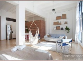 Ref. 1250 Flat-loft design in New York style building in 22 @