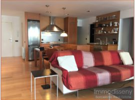 Ref. 3831 Singular apartment for rent fully furnished in Turó Park.